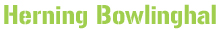 Herning Bowlinghal Logo